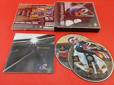 Bundle of 3 PS1 Playstation 1 Games - Gran Turismo 1 & 2 & F1 World Grand Prix