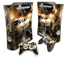 Racing Car Skin Sticker For XBOX 360 Fat Console Controller Decal Vinyl