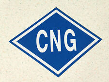 CNG Sticker / Decal for Compressed Natural Gas Vehicles dot cngv ships same day