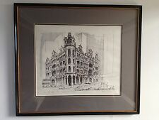PEN AND INK DRAWING SIGNED JON-L-BRIGGS