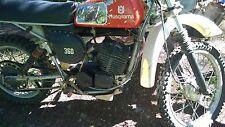 1976 Husqvarna 360 Auto Exhaust Pipe and Muffler 15 14 834-01