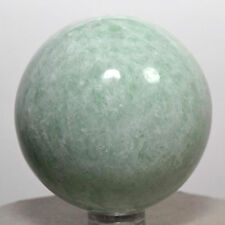 "2.1"" Green Amazonite Sphere Natural Crystal Sparkling Mineral Stone Ball - India"