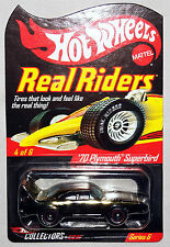 2007 Hot Wheels RLC '70 PLYMOUTH SUPERBIRD Real Riders Series 6 #8154/11000