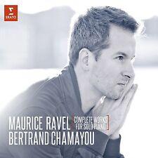 BERTRAND CHAMAYOU - SÄMTLICHE WERKE FÜR KLAVIER 2 CD NEU RAVEL,MAURICE