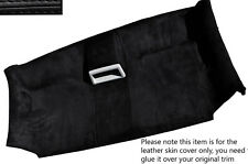 BLACK STITCH FRONT ROOF HEADLINING ALCANTARA SKIN COVER FITS VW T5 TRANSPORTER