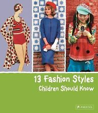 13 Fashion Styles Children Should Know-ExLibrary
