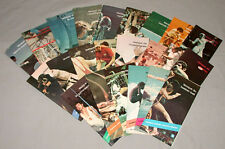 Rare Montreal 1976 Olympic Official Olympic Full Sport Vocabulary Lexis Set
