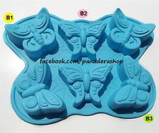Majestic Butterfly Silicon Rubber Soap Cake Jelly Chocolate Mold Molder Bakeware