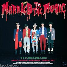 SHINEE - Married To The Music (4th Album Repackage) CD +Photobook+FOLDED POSTER