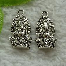 free ship 78 pcs tibet silver the Buddha charms 27x14mm #4017