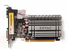 ZOTAC GeForce GT 730 Low Profile 4GB 64-Bit DDR3 PCI Express 2.0 x16 (x8 lanes)