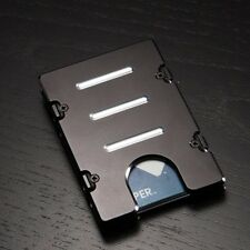 BilletVault Wallet, Aluminum RFID protection, Black Front Pocket