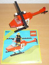 LEGO City 6657 POMPIERI ELICOTTERO V. 1985 + OBA