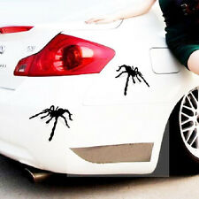 Cool Spider 3D Three-Dimensional Car Sticker Funny Decor Garland Refit Shape
