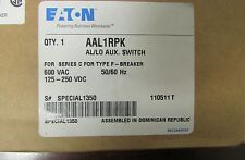 EATON CUTLER HAMMER AAL1RPK AL LO Auxiliary Switch for F Frame Breaker
