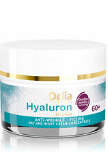 WRINKLE FILLER FACE CREAM CONCENTRATE 60+ HYALURON ACID COLLAGEN Skin Neck Firm