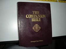 """""""Companion Bible"""" KJV Matt. 1:20 JEHOVAH NT NWT Study Cross Watchtower Research"""