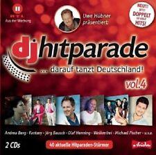 DJ Parade, vol. 4 - 2 CD NUOVO-Andrea Berg, Beatrice egli, Tommy pescatori