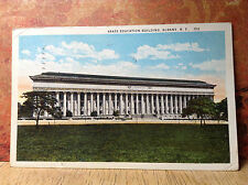 State Education Building Albany NY New York Vintage Postcard Posted 1926 Color