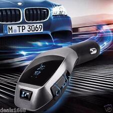 Bluetooth Inalámbrico LCD Transmisor de FM MP3 Reproductor Kit Para El Coche