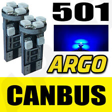 501 CANBUS 8 SMD LED ERROR FREE BLUE SIDELIGHT BULBS SEAT LEON FR CUPRA