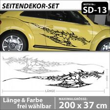 Drachen Karosserieaufkleber Dragon Tribal Design Aufkleber Cartattoo . SD-13