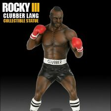 HCG Rocky III  Clubber Lang  Polystone Statue Hollywood Collectibles