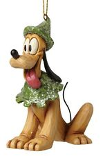 Disney Traditions Sugar Coated Pluto Hanging Ornament Figurine 10cm A28241