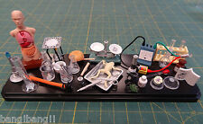 "Laboratory Accessories Equipment complete set 1/6 scale 12"" custom figure"