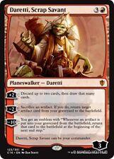 DARETTI, SCRAP SAVANT Commander 2016 MTG Red Planeswalker Mythic Rare