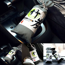 Natural Air Purifying Bags Bamboo Charcoal For Shoes Luggage Car Deodorant Bag