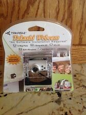 TAKASHI WEBCAM High Speed USB 2.0 3mp 3 Led Built in Microphone NEW