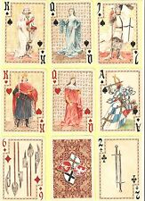 Playing cards - 52 cards+4 jokers  (x2) The Battle of Grunwald in 1410 - POLAND