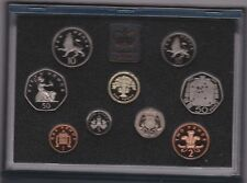1992 STANDARD PROOF SET OF 9 COINS INCLUDING THE 1992/1993 EEC 50 PENCE COIN