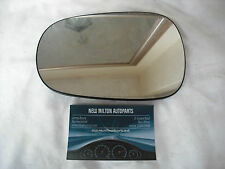 RENAULT CLIO MK2  1999-2005   ELECTRIC DOOR MIRROR GLASS  N/S LEFT  HEATED