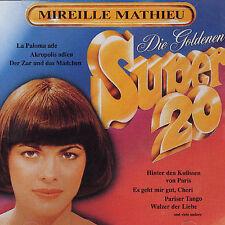 Die Goldenen Super 20 (Deutche Collection) by Mireille Mathieu (CD, Jan-1992,...