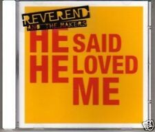 (H705) Reverend & The Makers, He Said He Loved Me DJ CD