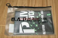 B.A.P BAP LIVE ON EARTH 2016 WORLD TOUR FINALE OFFICIAL GOODS SLOGAN TOWEL NEW