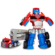 Transformers Playskool Heroes Rescue Bots OPTIMUS PRIME RESCUE TRAILER Spielzeug