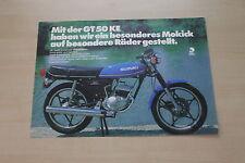 166482) SUZUKI GT 50 feature PROSPEKT 197?
