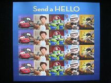 U.S. Postage Stamps - 2011 Send A Hello Stamp Sheetlet