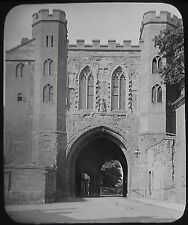 Glass Magic Lantern Slide THE EDGAR TOWER WORCESTER C1890 PHOTO ENGLAND CASTLE