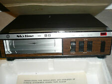 NOS Vintage 60's-70's Skyline 88 CR-10 8 Track Car Stereo Player MINT!