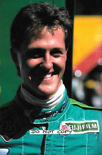 9x6 Photograph, Michael Schumacher, 7Up Jordan Portrait  Belgium GP Spa 1991