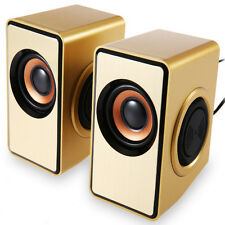 """GOLD SPEAKER"" for Laptop pc HQ Loudspeaker music (usb hifi)"