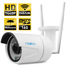 Reolink dural mode wireless IP camera 4MP P2P Built-in 16GB Micro sd RLC 410WS