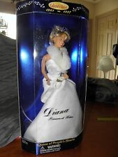 1997 DIANA PRINCESS WALES COLLECTORS Edition DOLL Queen of Hearts ~ Barbie Style