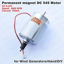 Permanent magnet DC 545 Motor Wind Generators/Hand/DIY power High-MITSUMI