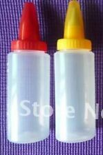 2pc B Cake cookie pastry decoration squeeze bottle icing nozzle