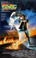 BACK TO THE FUTURE  MOVIE POSTER  MICHAEL J. FOX  UNIVERSAL STUDIOS
